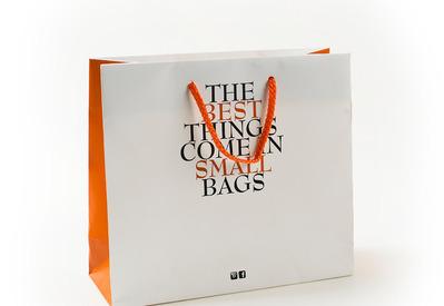 J-Me Packaging - Lummen - Papieren draagtassen